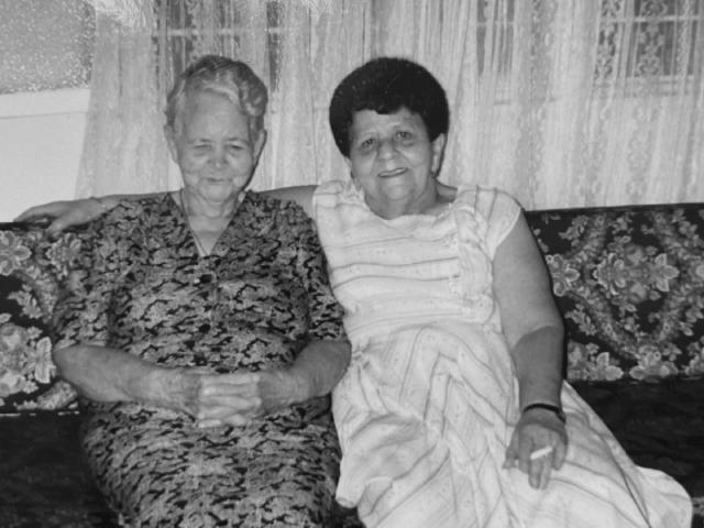 Raquel (María's grandmother and Mariela)